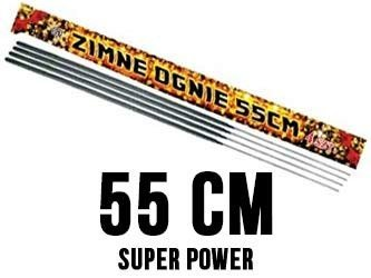 Zimne ognie 55cm E7023 - 40 sztuk (10 opakowań)