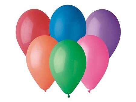 "Balon G110 pastel 12"" - ""różnokolorowy"" / 50 szt. G110/80/50"