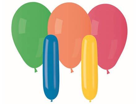 Balony Premium, kolorowe, mix wzorów, 20 szt. GB/PG16