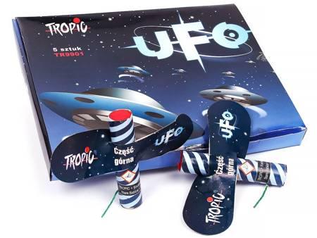 """Duże latające motyle """"UFO"""" TR9901 - 5 sztuk"""