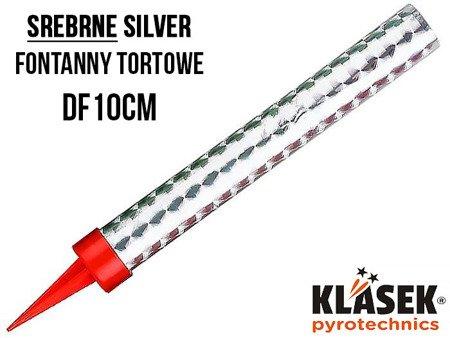 Fontanna tortowa 10cm DF10CM - 30 sekund