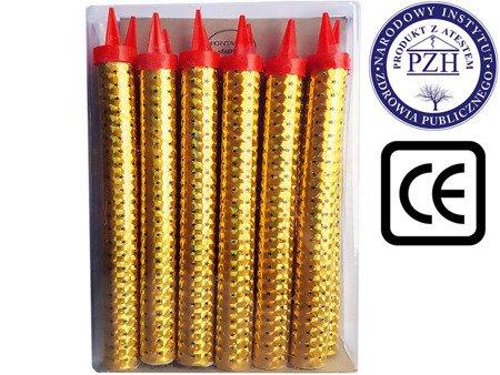 Fontanny tortowe 12cm SFX0904 - 12 sztuk