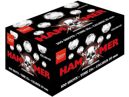 """Hammer CEL100-03 - 100 strzałów 0.8"""""""