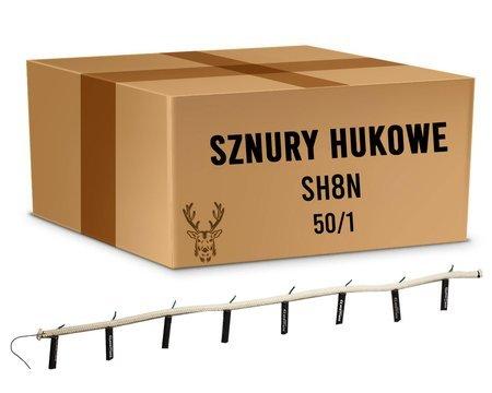 Karton Sznurów Hukowych SH8N - 8 godzin (50 sztuk)