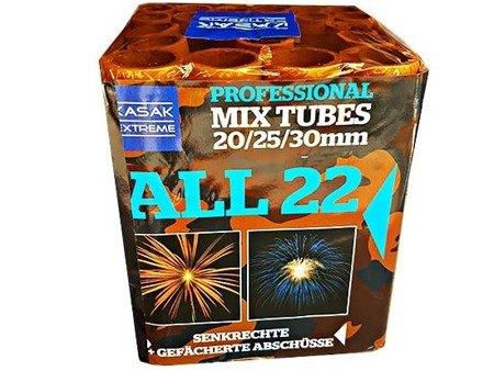Kasak Extreme ALL22-01 - 22 strzałów MIX