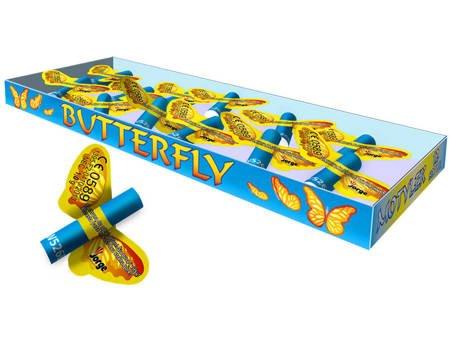 Latająće Motylki Butterfly W526B - 12 sztuk