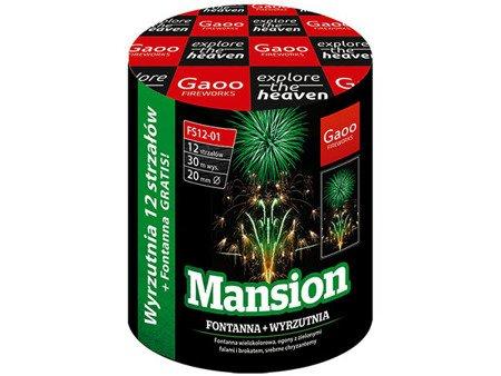 """Mansion FS12-01 - fontanna + 12 strzałów 0.8"""""""
