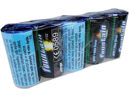 Mini-Fontanny JF02 BLUE - 5 sztuk