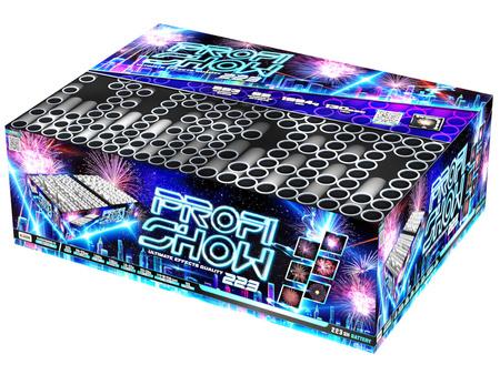 Profi Fireworks show C223MF/C - 223 strzały MIX