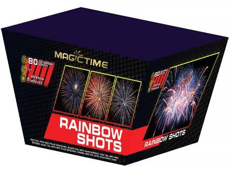 """Rainbow Shots P7742 - 80 strzałów 1"""""""