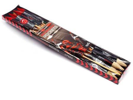 Red Warrior Rockets CP323 - 8 sztuk
