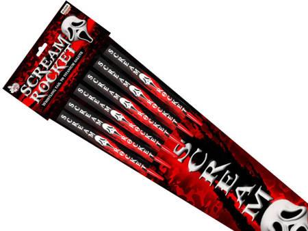 Scream rocket RS6XS - 6 sztuk