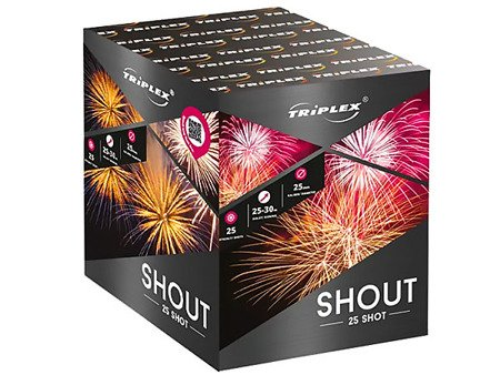 """Shout TXB539 - 25 strzałów 1"""""""