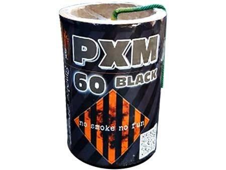 Świeca dymna PXM60 BLACK - czarny dym