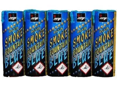 Świece Dymne JFS-1 Niebieskie - 5 sztuk