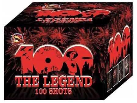 """The Legends CLE4101 - 100 strzałów 0.8"""""""