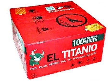 "Titanium Salute EL TITANIO DB33 - 100 strzałów 0.8"""