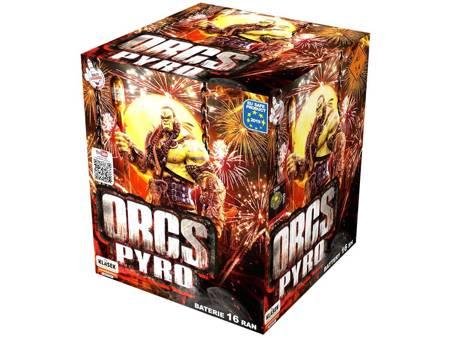 """Wyrzutnia Orcs pyro C163A - 16 strzałów 1.2"""""""